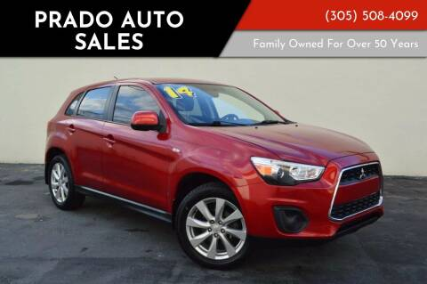 2013 Mitsubishi Outlander Sport for sale at Prado Auto Sales in Miami FL