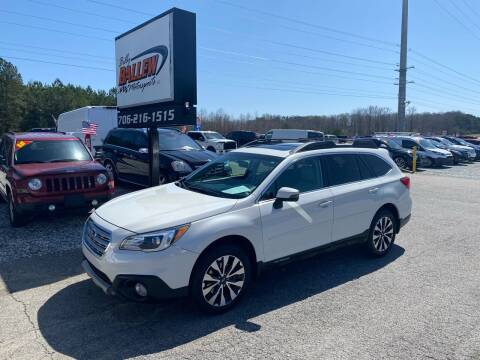 2015 Subaru Outback for sale at Billy Ballew Motorsports in Dawsonville GA