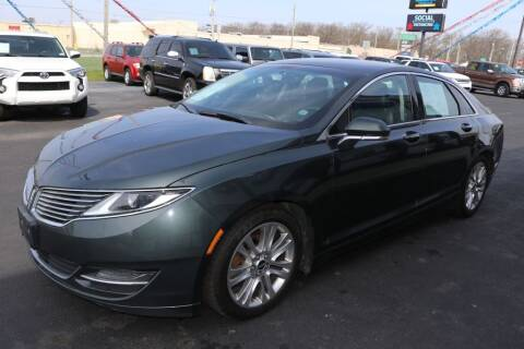 2016 Lincoln MKZ Hybrid for sale at Ultimate Auto Deals DBA Hernandez Auto Connection in Fort Wayne IN
