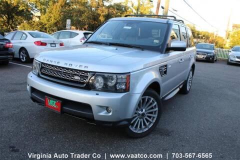 2013 Land Rover Range Rover Sport for sale at Virginia Auto Trader, Co. in Arlington VA