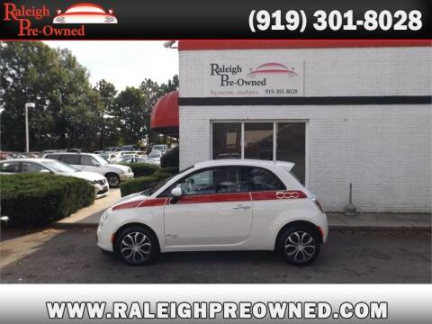 2015 FIAT 500 for sale at Raleigh Pre-Owned in Raleigh NC
