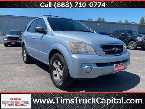 2005 Kia Sorento for sale at TTC AUTO OUTLET/TIM'S TRUCK CAPITAL & AUTO SALES INC ANNEX in Epsom NH