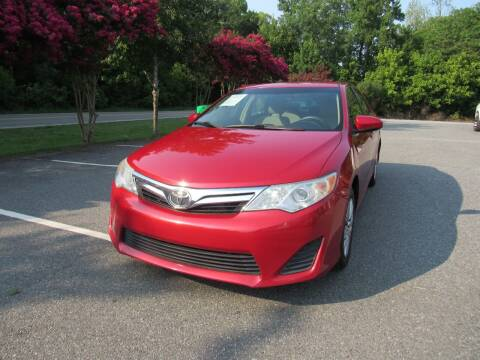 2012 Toyota Camry for sale at Pristine Auto Sales in Monroe NC