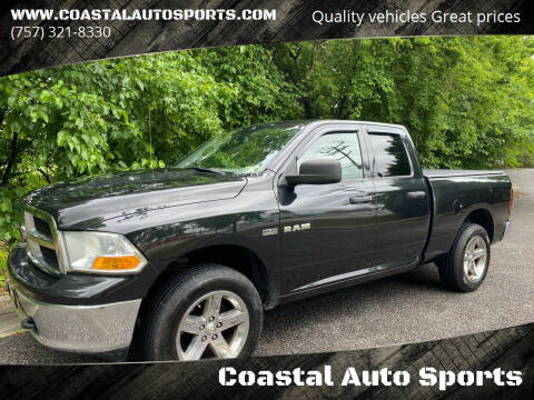 2010 Dodge Ram Pickup 1500 for sale at Coastal Auto Sports in Chesapeake VA