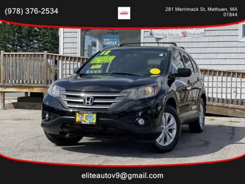 2013 Honda CR-V for sale at ELITE AUTO SALES, INC in Methuen MA