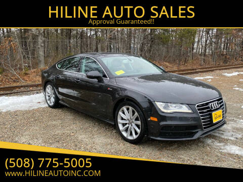 2012 Audi A7 for sale at HILINE AUTO SALES in Hyannis MA