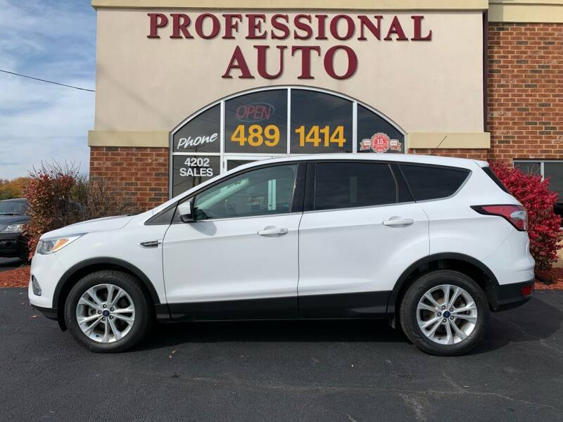 2017 Ford Escape for sale at Professional Auto Sales & Service in Fort Wayne IN