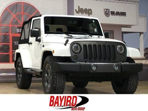 2017 Jeep Wrangler for sale at Bayird Truck Center in Paragould AR