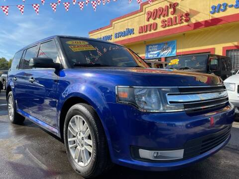 2015 Ford Flex for sale at Popas Auto Sales in Detroit MI