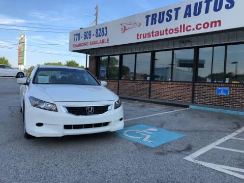2009 Honda Accord for sale at Trust Autos, LLC in Decatur GA
