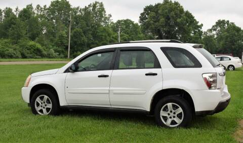 2006 Chevrolet Equinox for sale at PINNACLE ROAD AUTOMOTIVE LLC in Moraine OH