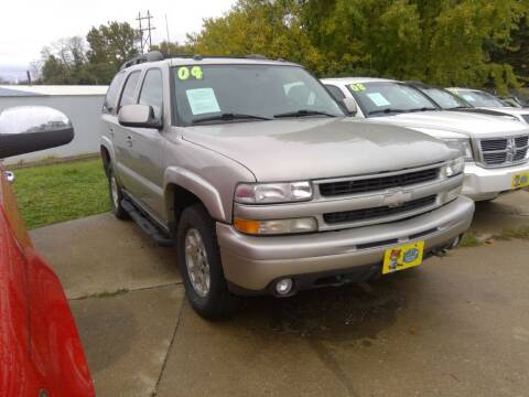 2004 Chevrolet Tahoe for sale at Regency Motors Inc in Davenport IA
