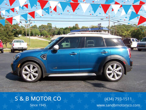 2017 MINI Countryman for sale at S & B MOTOR CO in Danville VA