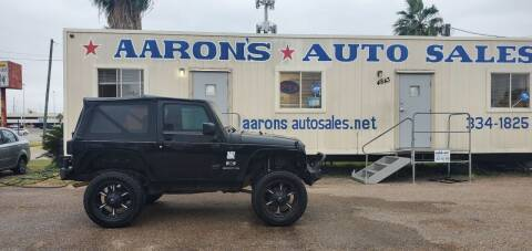 2009 Jeep Wrangler for sale at Aaron's Auto Sales in Corpus Christi TX