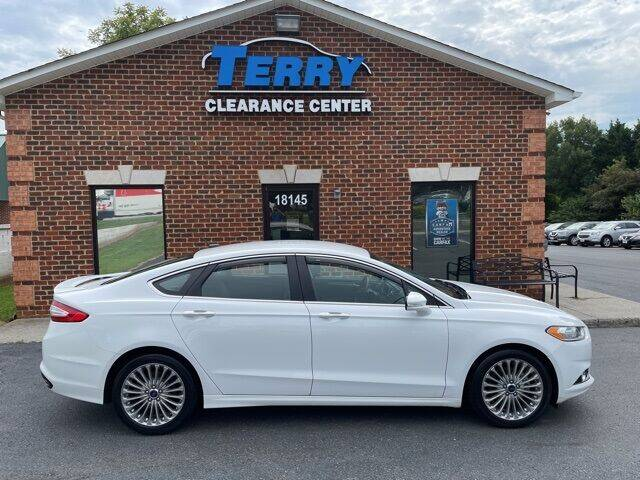 2014 Ford Fusion for sale at Terry Clearance Center in Lynchburg VA