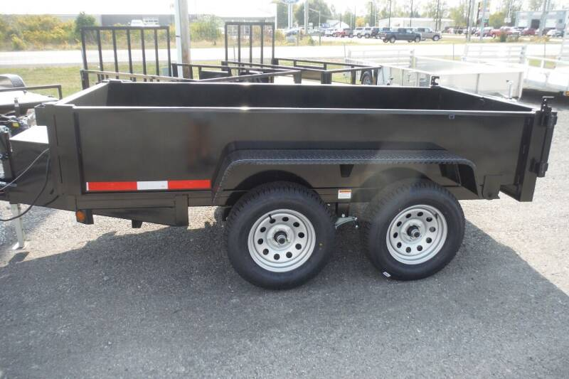 2021 Quality Steel 5X10 DUMP for sale at Bryan Auto Depot in Bryan OH