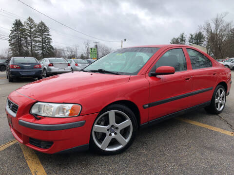 2004 Volvo S60 R for sale at J's Auto Exchange in Derry NH