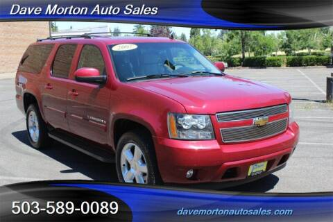 2007 Chevrolet Suburban for sale at Dave Morton Auto Sales in Salem OR