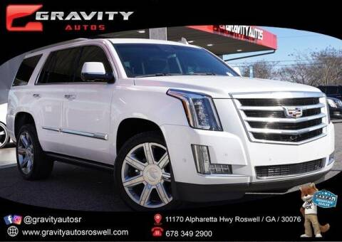 2017 Cadillac Escalade for sale at Gravity Autos Roswell in Roswell GA