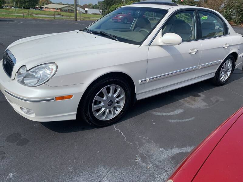 2003 Hyundai Sonata for sale at Doug White's Auto Wholesale Mart in Newton NC