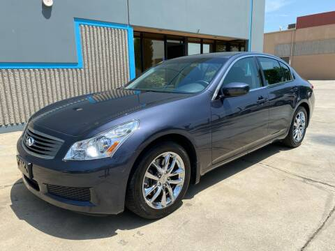 2009 Infiniti G37 Sedan for sale at 7 Auto Group in Anaheim CA