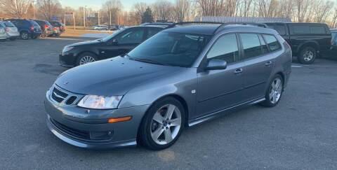 2007 Saab 9-3 for sale at Paul Hiltbrand Auto Sales LTD in Cicero NY