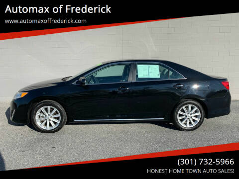2014 Toyota Camry for sale at Automax of Frederick in Frederick MD