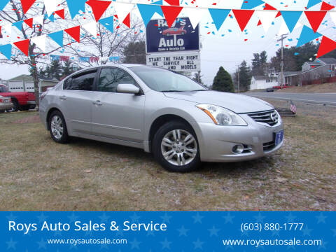 2012 Nissan Altima for sale at Roys Auto Sales & Service in Hudson NH