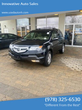 2009 Acura MDX for sale at Innovative Auto Sales in North Hampton NH