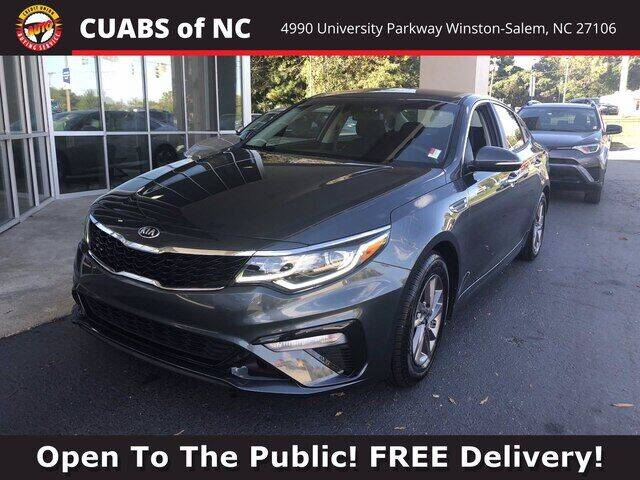 2020 Kia Optima for sale at Summit Credit Union Auto Buying Service in Winston Salem NC