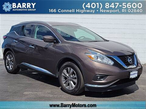 2016 Nissan Murano for sale at BARRYS Auto Group Inc in Newport RI