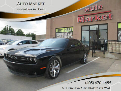 2015 Dodge Challenger for sale at Auto Market in Oklahoma City OK