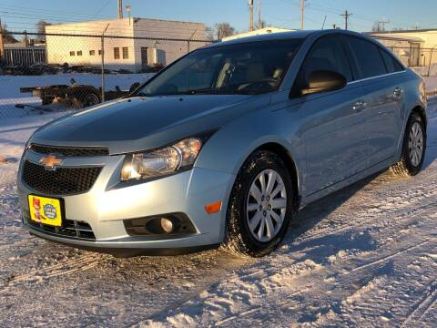 2011 Chevrolet Cruze for sale at El Tucanazo Auto Sales in Grand Island NE