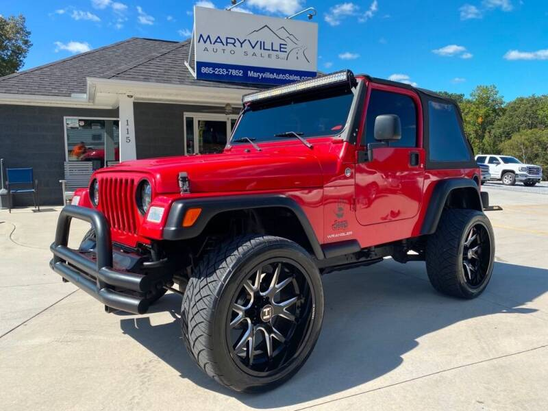 2006 Jeep Wrangler for sale at Maryville Auto Sales in Maryville TN