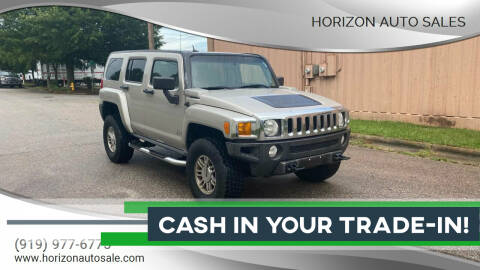 2007 HUMMER H3 for sale at Horizon Auto Sales in Raleigh NC