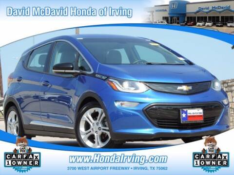 2017 Chevrolet Bolt EV for sale at DAVID McDAVID HONDA OF IRVING in Irving TX