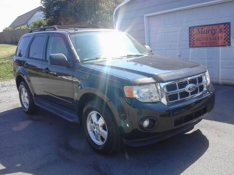 2012 Ford Escape for sale at Marty's Auto Sales in Lenoir City TN