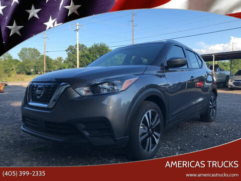 2020 Nissan Kicks for sale at Americas Trucks in Jones OK