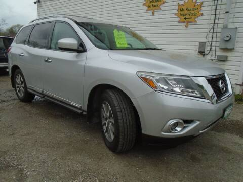 2013 Nissan Pathfinder for sale at Wimett Trading Company in Leicester VT