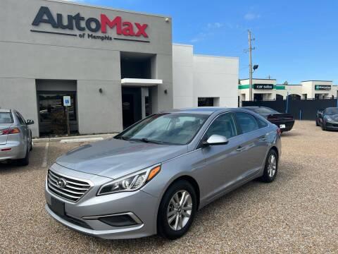 2017 Hyundai Sonata for sale at AutoMax of Memphis in Memphis TN