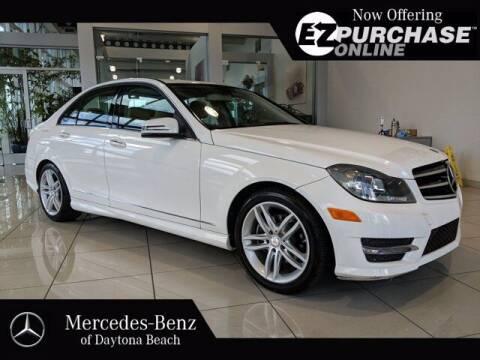 2014 Mercedes-Benz C-Class for sale at Mercedes-Benz of Daytona Beach in Daytona Beach FL