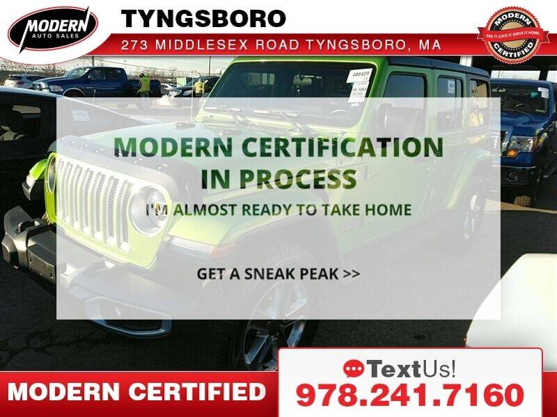 2019 Jeep Wrangler Unlimited for sale at Modern Auto Sales in Tyngsboro MA
