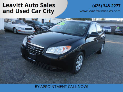 2007 Hyundai Elantra for sale at Leavitt Auto Sales and Used Car City in Everett WA
