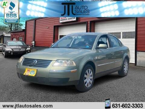 2004 Volkswagen Passat for sale at JTL Auto Inc in Selden NY