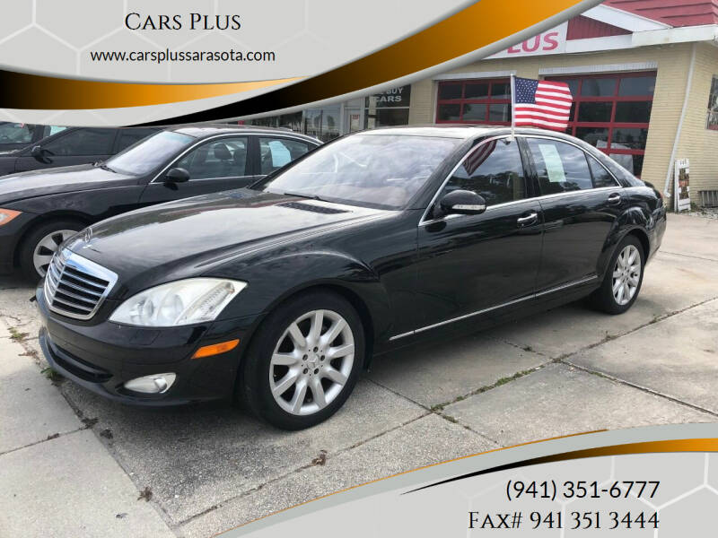 2007 Mercedes-Benz S-Class for sale at Cars Plus in Sarasota FL