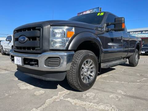 2015 Ford F-250 Super Duty for sale at MAGIC AUTO SALES, LLC in Nampa ID