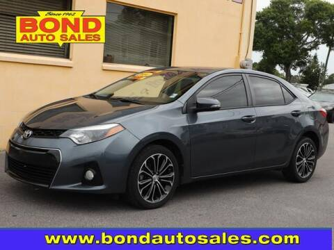 2014 Toyota Corolla for sale at Bond Auto Sales in St Petersburg FL
