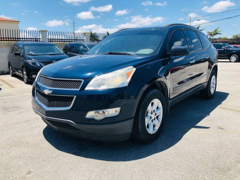 2012 Chevrolet Traverse for sale at GTR MOTORS in Hollywood FL