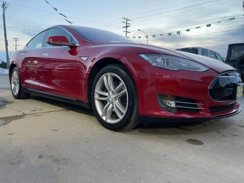 2013 Tesla Model S for sale at Super Trooper Motors in Madison WI