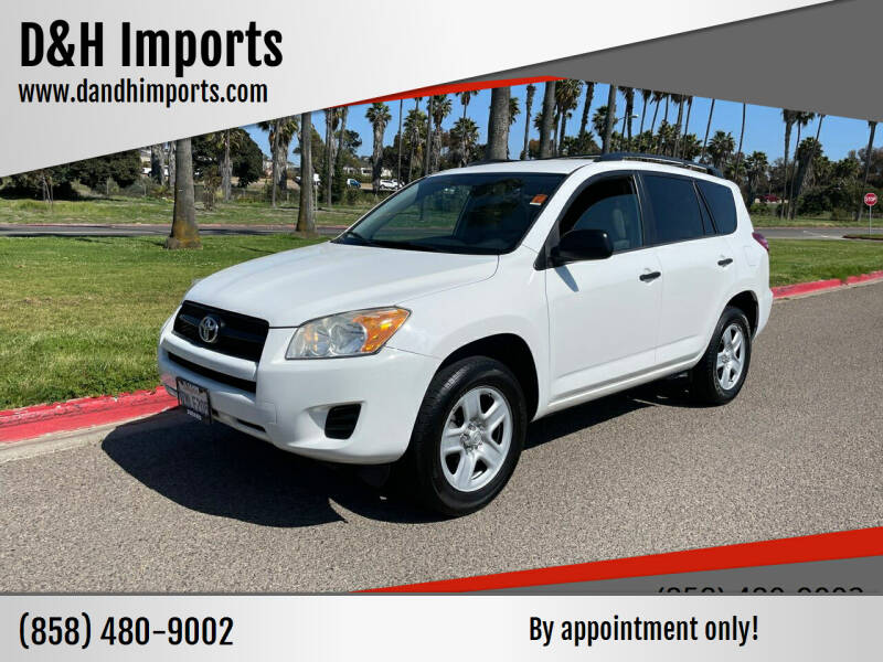 2012 Toyota RAV4 for sale at D&H Imports in San Diego CA